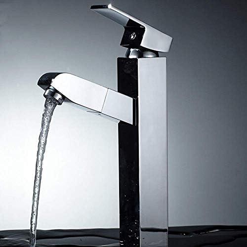 CHENBIN-BB プルアウトローマンシングルホール流域ミキサーキッチンシンク温水と冷水の蛇口浴室の蛇口浴室美しいと耐久性