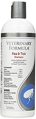 SynergyLabs Veterinary Formula Clinical Care Flea & Tick Shampoo for Dogs; 16 fl. oz. from Synergy Labs