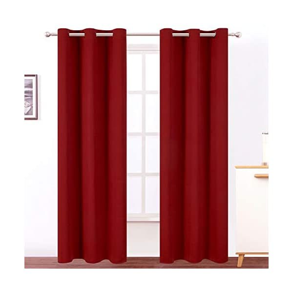 living room thermal blackout curtains