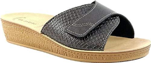 Pantofole Aperte Ciabatte Inblu Fucile Mod 64 Benessere Donna Linea Canna Di 56fwxO