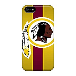 Protector Hard Cell-phone Case For Iphone 5/5s With Customized Attractive Washington Redskins Pictures DustinFrench
