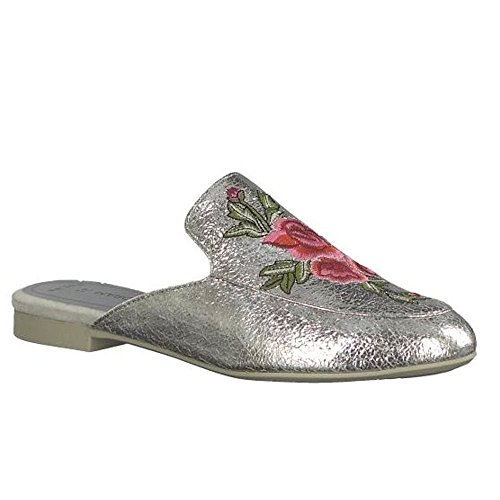 Tozzi silver Femme Marco Marco Tozzi Marco Mules silver silver Femme Mules Marco Femme Tozzi Tozzi Mules IqwZHYnZ
