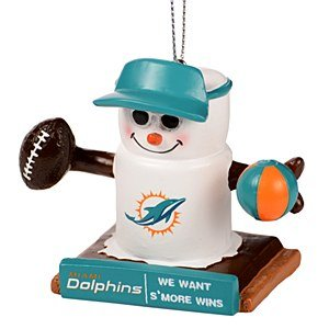 Miami Dolphins S'mores Ornament