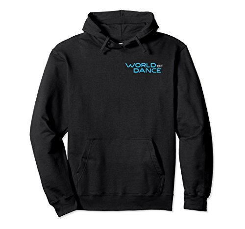 Unisex World of Dance Official Pullover Hoodie Medium Black -