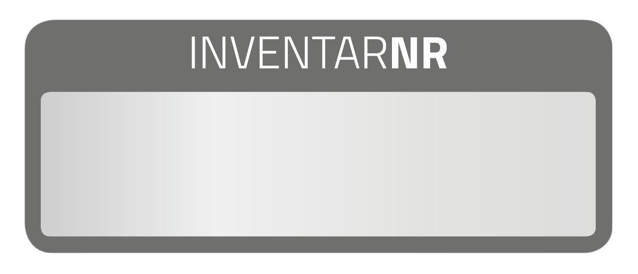 Avery Zweckform 6905inventario–Etichette 50x 20mm, 10fogli/50etichette, Nero Avery Tico Srl