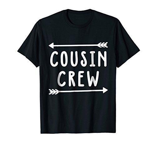Cousin Crew Arrows Nieces & Nephews Funny Kids T shirt Gifts
