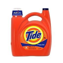 Tide 23064 Original Scent Liquid Laundry Detergent, 150 Ounces, 96-loads (Case of 4)