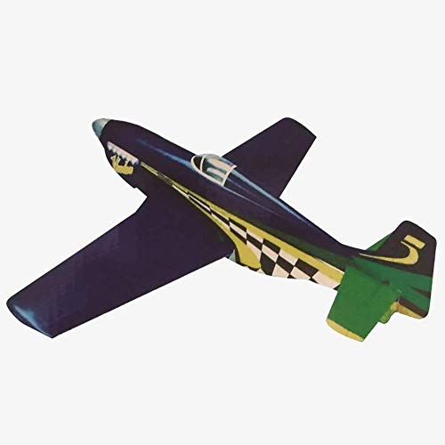 Electric Arf Planes (VMAR P-51 Mustang Voodoo (ARF) Plane Kit Scale P-51 Voodoo, Brushless Outrunner 100-150 Watts, 2-3 Cells 800-1400mAh)