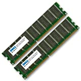 NEW DELL MADE GENUINE ORIGINAL RAM Upgrade 1GB (2 x 512MB) DDR SDRAM DIMM 184-pin 266 MHz (PC2100) ECC 2 x memory - DIMM 184-pin 311-1618