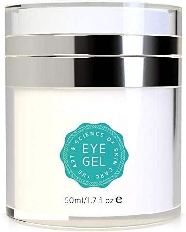 Tetyana naturals Eye Gel for Dark Circles, Puffiness, Wrinkles and Bags,Fine Lines. - The Most Effective Anti-Aging Eye Gel Under and around Eyes- 1.7 fl OZ