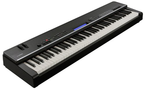 Yamaha CP4 Stage Piano with Natural Wood Keys and Sustain Pedal