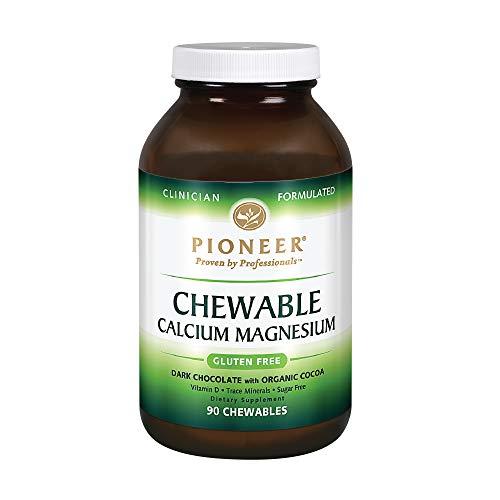 Pioneer Nutrition Calcium Magnesium Supplements, Chocolate, 90 -