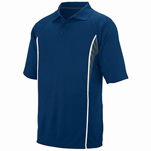 Augusta Sportswear Men's Rival Sport Shirt M Navy/Slate/White