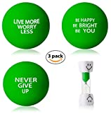 Cheap InsidersPro Stress Relief Ball Assortment | Motivational Squeeze Toys + Free Sand Timer | Hand Exerciser Balls to Relieve Tension/Joint Pain & Strengthen Grip – Great Gift Idea for Kids & Adults