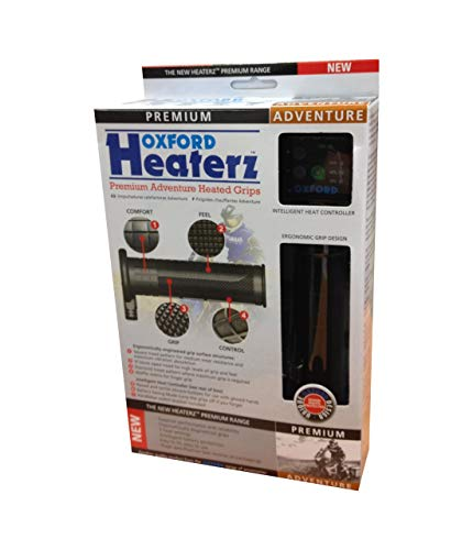 Heated Grip Set - Oxford OF690Z Heaterz Premium Adventure Heated Handlebar Grips