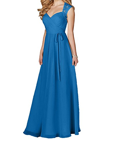 Vestido trapecio Topkleider oscuro para azul mujer dSRqR7