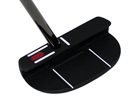 Seemore FGP Black Mallet Putter (Right Hand, 37-Inch Counter Balanced)