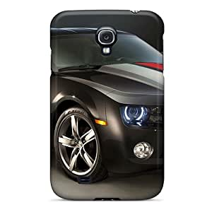 Galaxy S4 Case Cover - Slim Fit Tpu Protector Shock Absorbent Case (beautiful Chevrolet Camaro 2012)