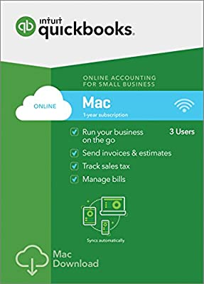 QuickBooks Online for Mac 2018 - Small Business Accounting [Mac Download]