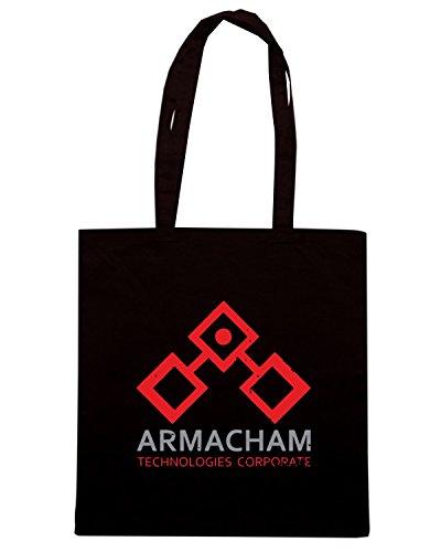 T-Shirtshock - Bolsa para la compra TGAM0006 Armacham Technologies Corporate Negro