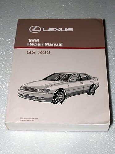 1996 lexus gs300 factory repair manual complete volume toyota rh amazon com Lexus GS300 Turbo Kit Head Gasket 2001 Lexus GS300