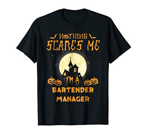 Bartender Manager Easy Halloween Costume T-shirt for $<!--$16.99-->