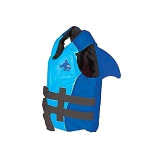 SwimWays Sea Squirts Fin Friends Life Jacket, Blue, 30-50 LB (41132)