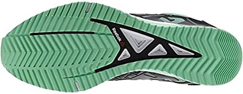 Reebok Mens Crossfit Athlete Select Pack Sprint Tr Sneakers Mint Glow//Black//Silver Size 13