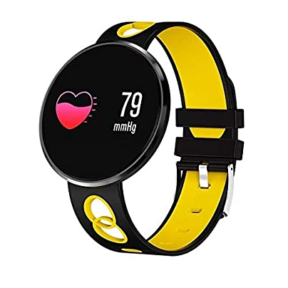 JSX IP67 waterproof smart bracelet heart rate activity tracker fitness wristband smart watch calorie counter sports watch Estimated Price £51.65 -