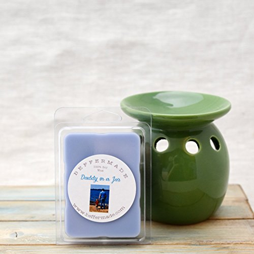 Daddy in a Jar Scented Soy Wax Melts - Paraffin Free - 6 cub