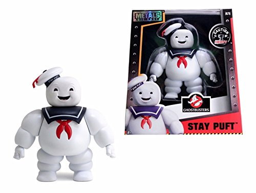 "NEW JADA GHOSTBUSTERS COLLECTION- 6"" Metal DieCast (Die-Cast) STAY PUFT MARSHMALLOW MAN Action Figures By Jada Toys"