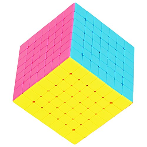 55cube 7x7 Cube Stickerless, Super Reliable - More Smoothly Than Original 7x7 Cube