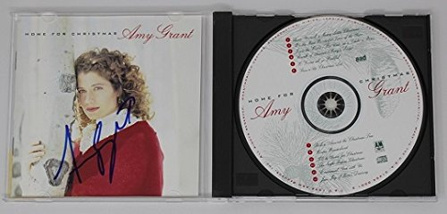 Amy Grant Home for Christmas Signed Autographed Music Cd Compact Disc - Metals Discount Speedy