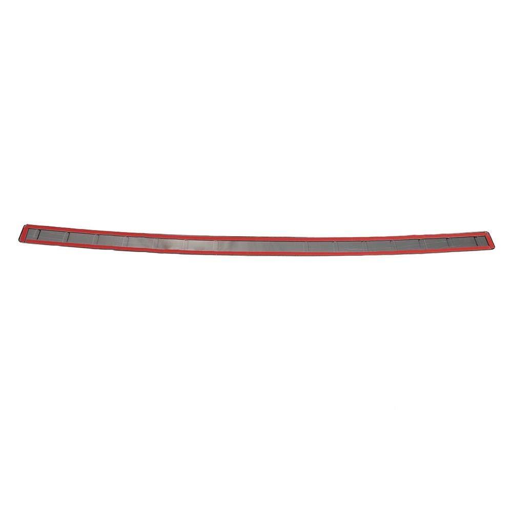 KIMISS Copri-paraurti posteriore nero Paraurti esterno paraurti Guard Protector Trim Cover Acciaio inossidabile per Sport 2014-2018