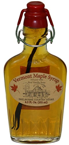 Infused Vermont Maple Syrup (Vanilla Bean)