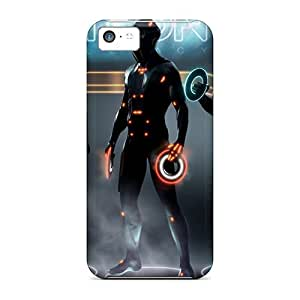 For Iphone 5c Protector Case Tron Legacy Characters Phone Cover