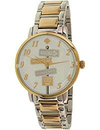 Kate Spade Women's Gramercy KSW1129 Gold Stainless-Steel Quartz Watch