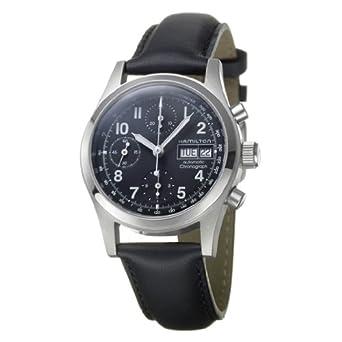 796105d0d Hamilton Khaki Field Chrono Auto Men'S Watch H71416733: Amazon.co.uk:  Watches