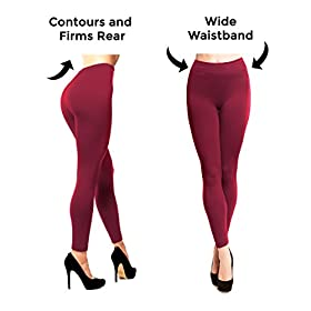 - 41etwL6GDNL - Stylish and Fit Body Fleece Lined Leggings Women, Seamless, Opaque, Thick Spandex Thermal Tights