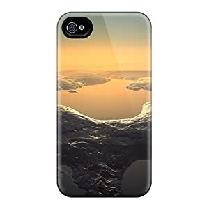Leontyle4562 Slim Fit Tpu Protector PXS1346MNCL Shock Absorbent Bumper Cases For Iphone 4/4s