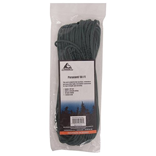 Liberty Mountain Paracord, Hunter Green, 50-Feet by Liberty Mountain (Image #1)