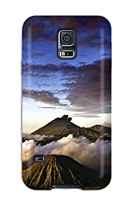 Snap-on Case Designed For Galaxy S5- Volcano