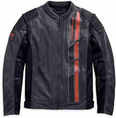 6b1664c2081 Harley-Davidson Men's Stockett Covertible Mesh Riding Jacket, Gray  97126-19VM