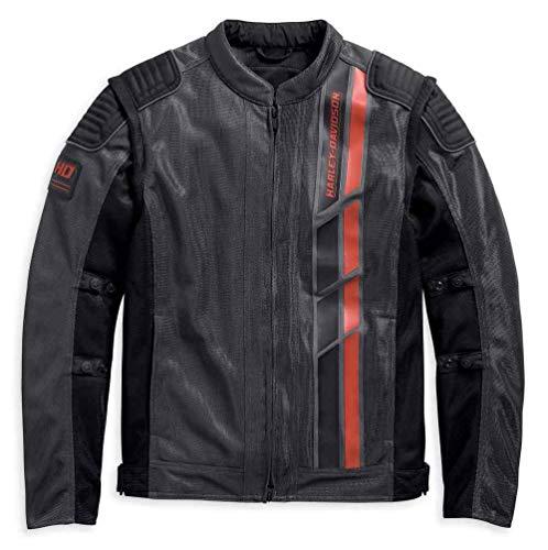 Harley-Davidson Men's Stockett Covertible Mesh Riding Jacket 97126-19VM (3XLT) ()