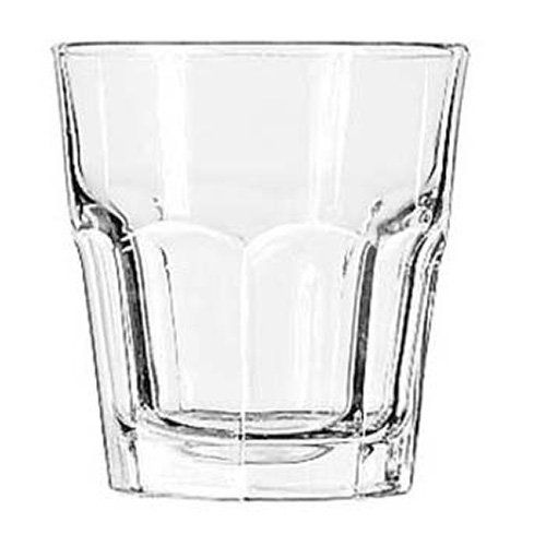 Libbey 15242 Gibraltar Rocks (Duratuff), 9 oz, S, Clear (Pack of -