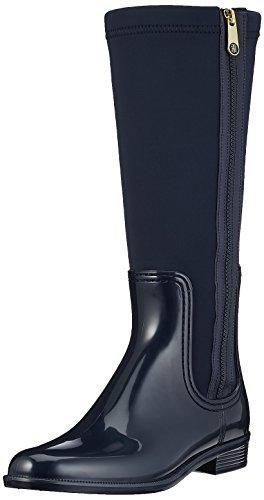 Tommy Hilfiger Women's O1285dette 13r Wellington Boots, Blue (Midnight), 7.5 UK