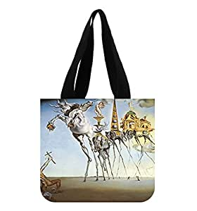 Salvador Dali Custom Tote Bag