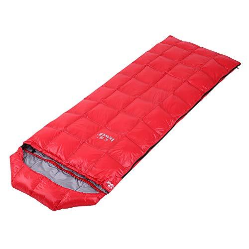 KD Winter Super Warm Rechteckige Gänsedaunen Schlafsack Ultraleichtkompressions Schlafsack Für Outdoor-Camping-Wanderreisen