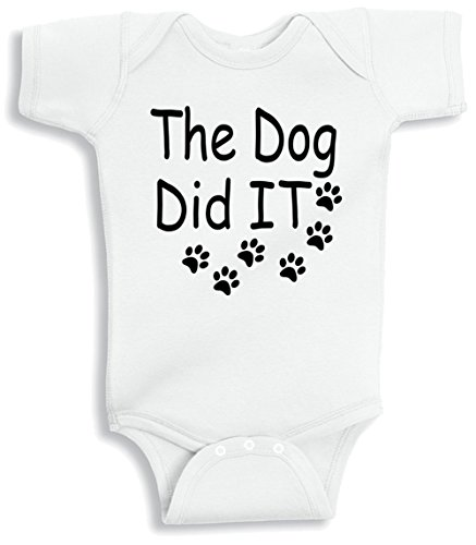 Lil Shirts Dog Baby Bodysuit product image