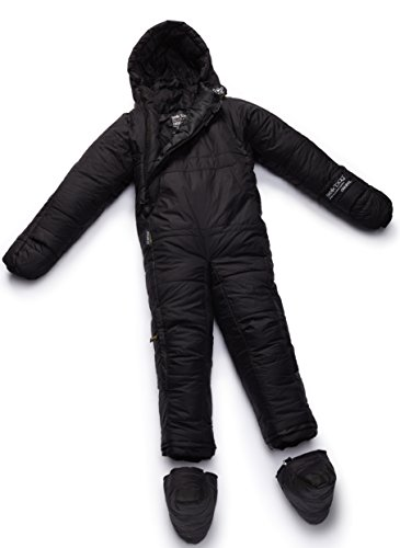 (Selk'bag Adult Original 5G Wearable Sleeping Bag: Black Cave, Medium)